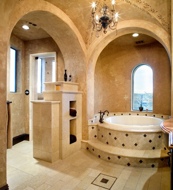 Tuscan Style Bathroom Designs Magnificent 19 Inspiring Tuscan Style Homes Design & House Plans  Tuscan Decorating Design