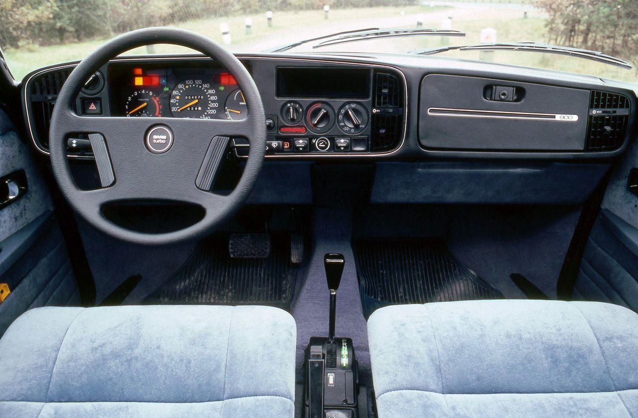 1984 SAAB 900 TURBO Saab 900, Car interior, Saab