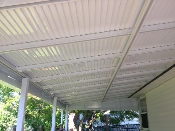 Aluminum Home Awning In Brooklyn New York For House Sold By Elite Awning Builders And Fencing Selling House Awning Awning Canopy