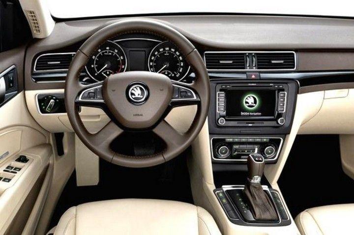 Review 2014 Skoda Superb Release Interior View Model Auta