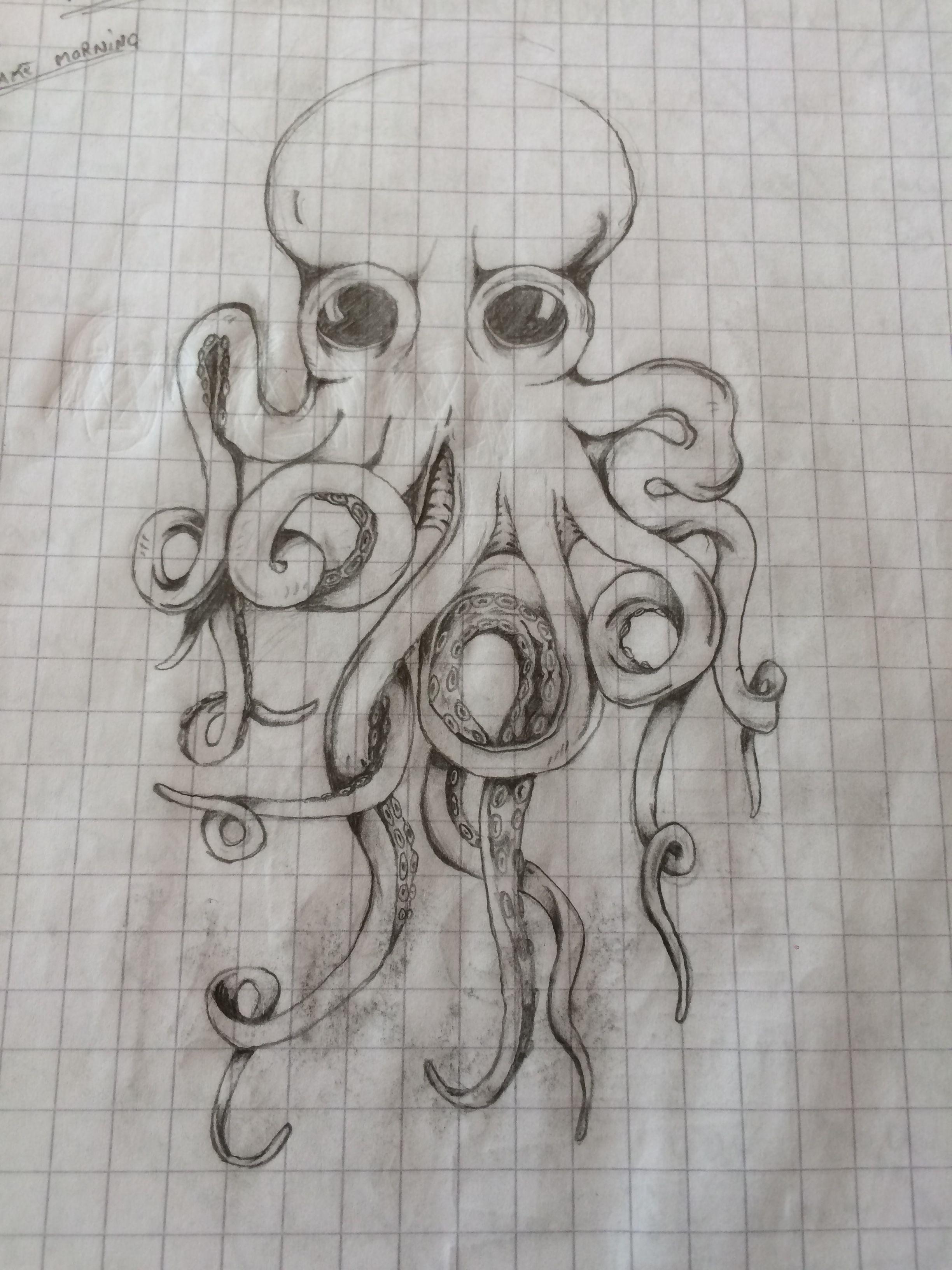 Octopus tattoo john frusciante Blood Sugar