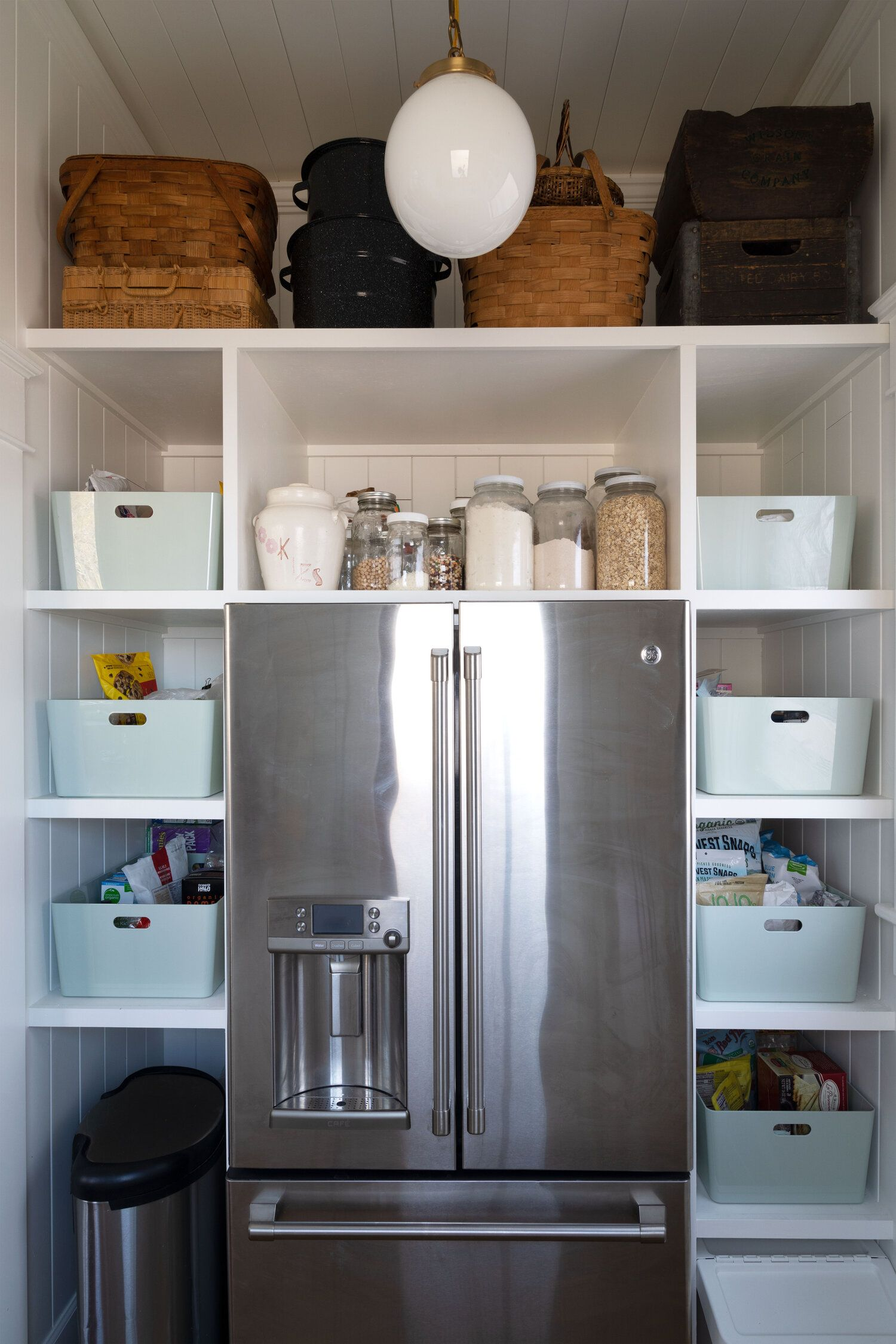 farmhouse butler's pantry reveal! | kitchen butlers pantry, pantry, built in cabinets