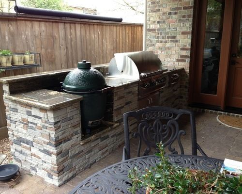 Image Result For Brick Grill Island With Komodo Outdoor Outdoor Design Outdoor Kitchen Design