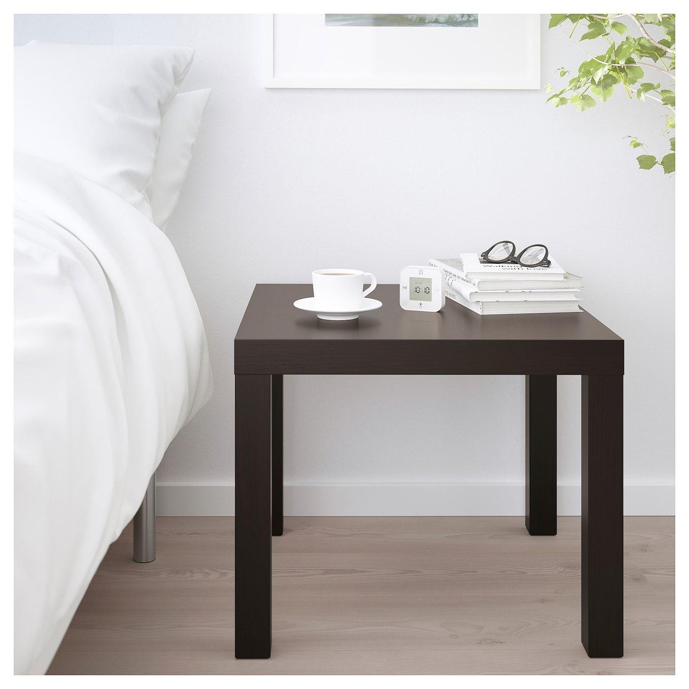 SMALL SIDE// COFFEE TABLE BLACK-BROWN IKEA