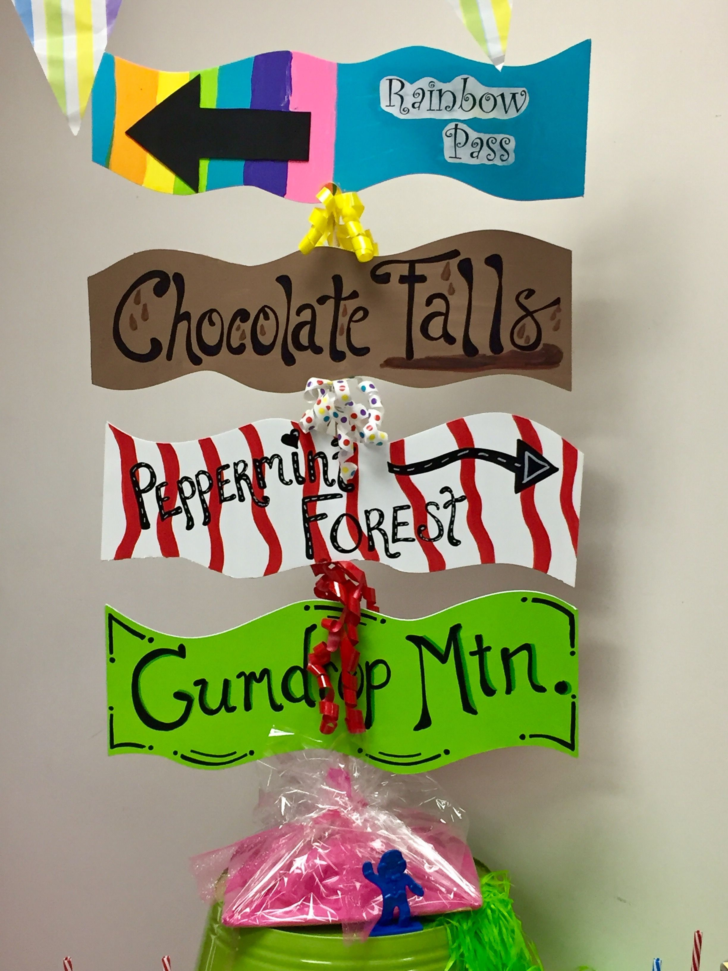 Candyland themed Staff Appreciation Decorations. #candylanddecorations Candyland themed Staff Appreciation Decorations. #candylanddecorations