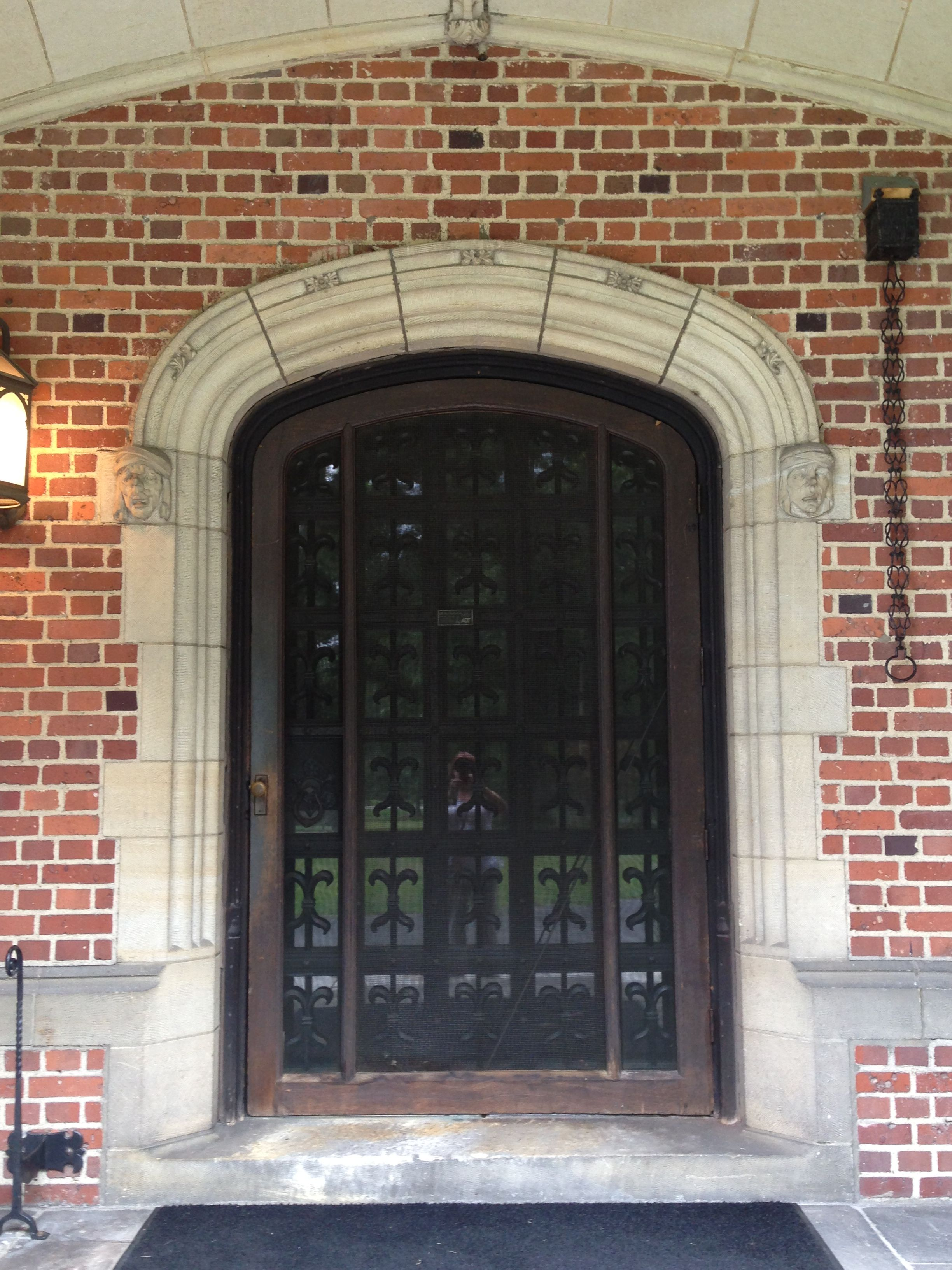 Front Entrance Doors Stan Hywet Hall And Gardens Akron