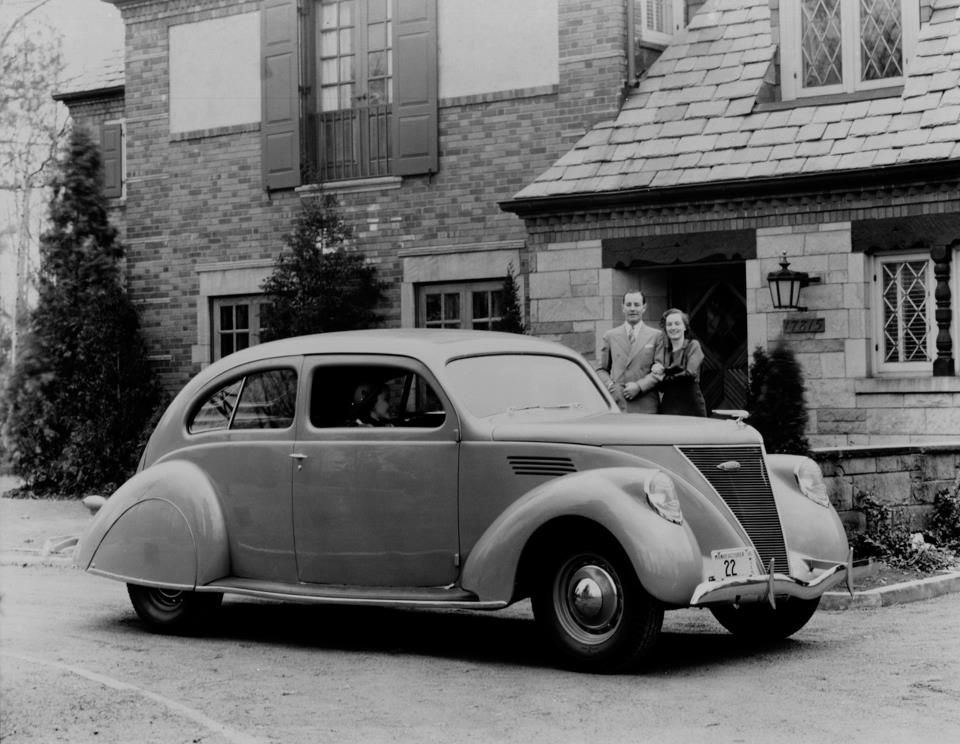 The 1936 Lincoln Zephyr Was Radically Modern In Appearance Both