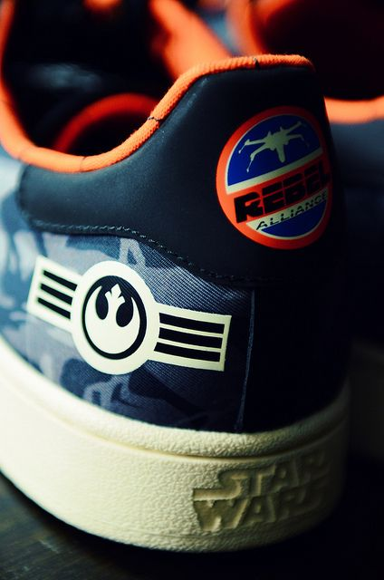 Just got myself a pair of Adidas Superstar II Star Wars