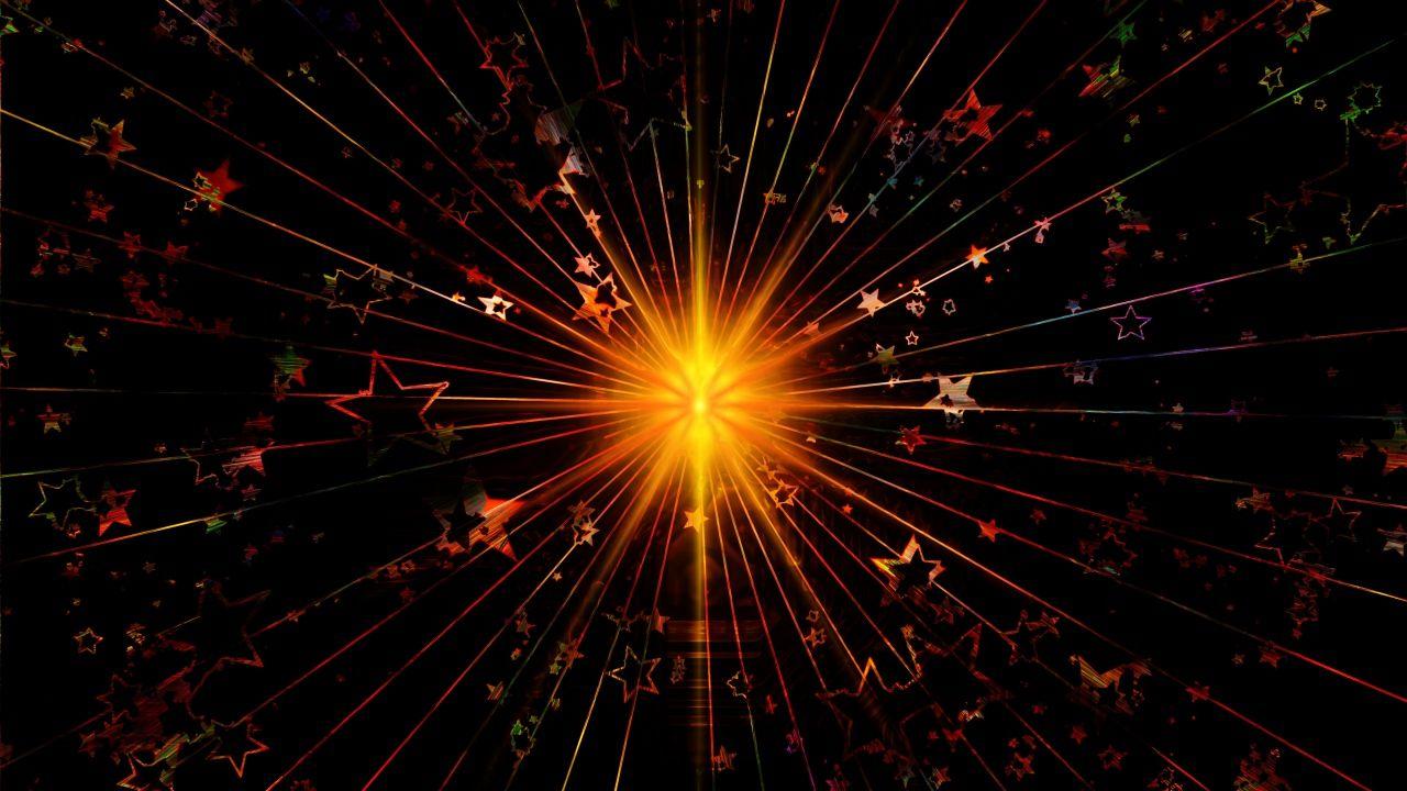 1280x720 Wallpaper Shine Abstract Stars