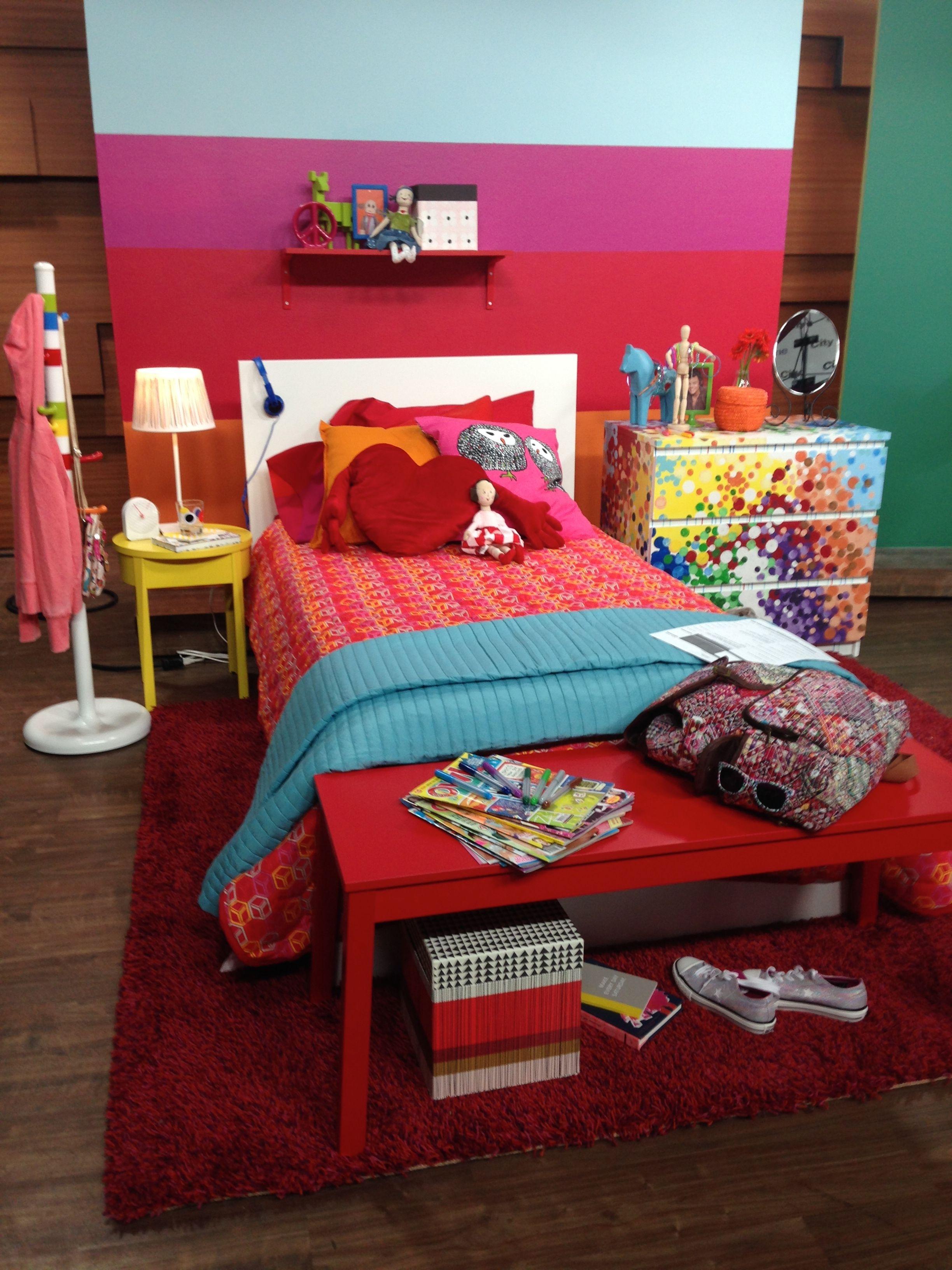 Captivating Colourful Kids Room! Furnishings Courtesy Of: IKEA Canada, Www.ikea.ca