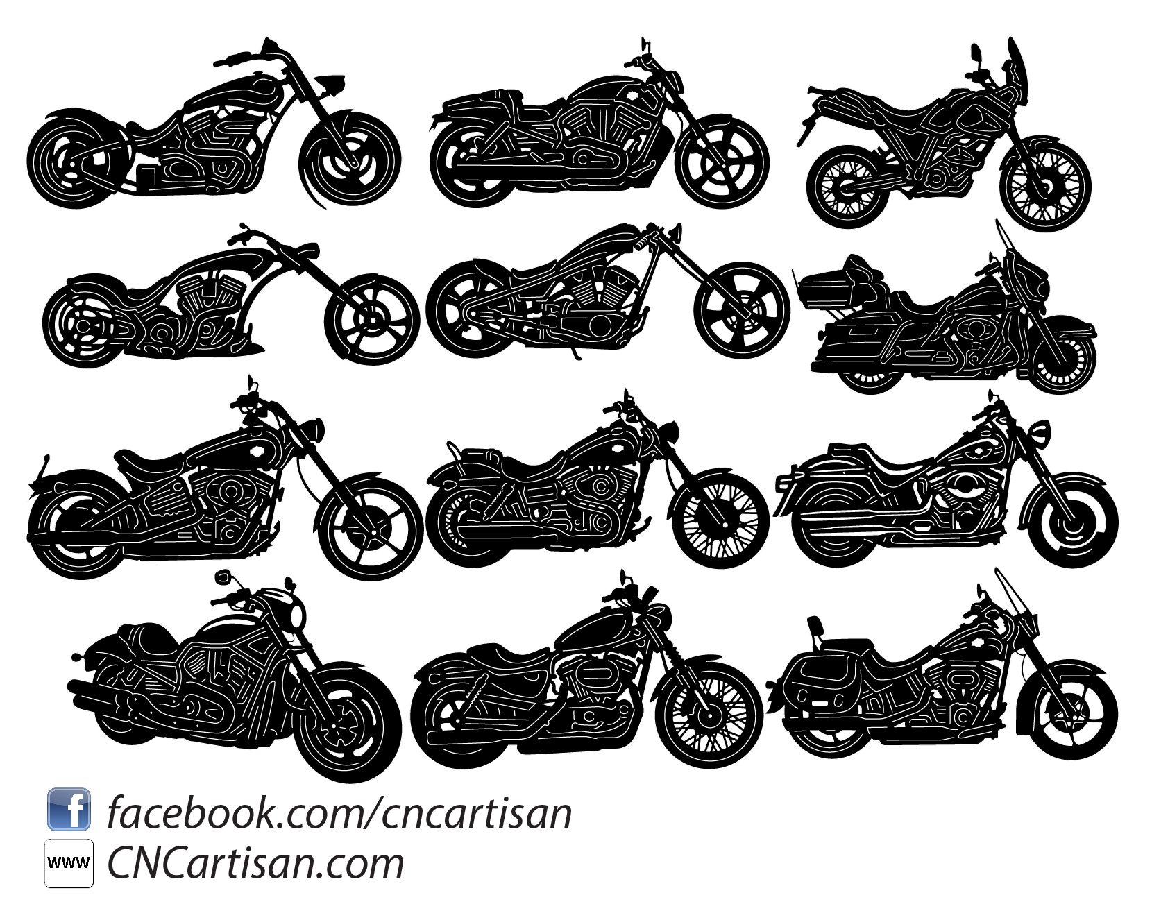 Motorcycle And Chopper Bike Dxfforcnc