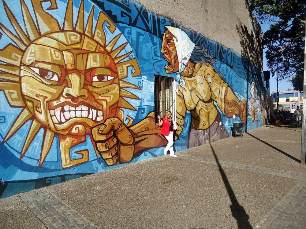 -Street Art -En Caminito_  Buenos  Aires -Argentina