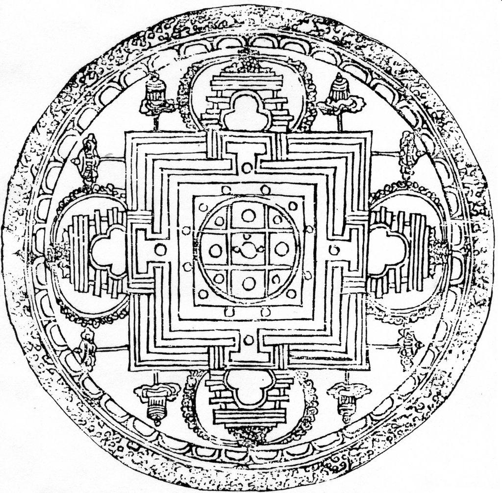 Buddha Mandala Coloring Pages Download Mandala Coloring Books Tibetan Mandala Mandala Coloring