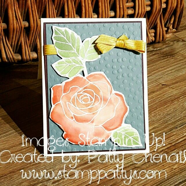 Rose Wonder watercolor Stampers Dozen Blog Hop #stamppattys #stampinup #stampersdozenbloghop #rosewonder #watercolor