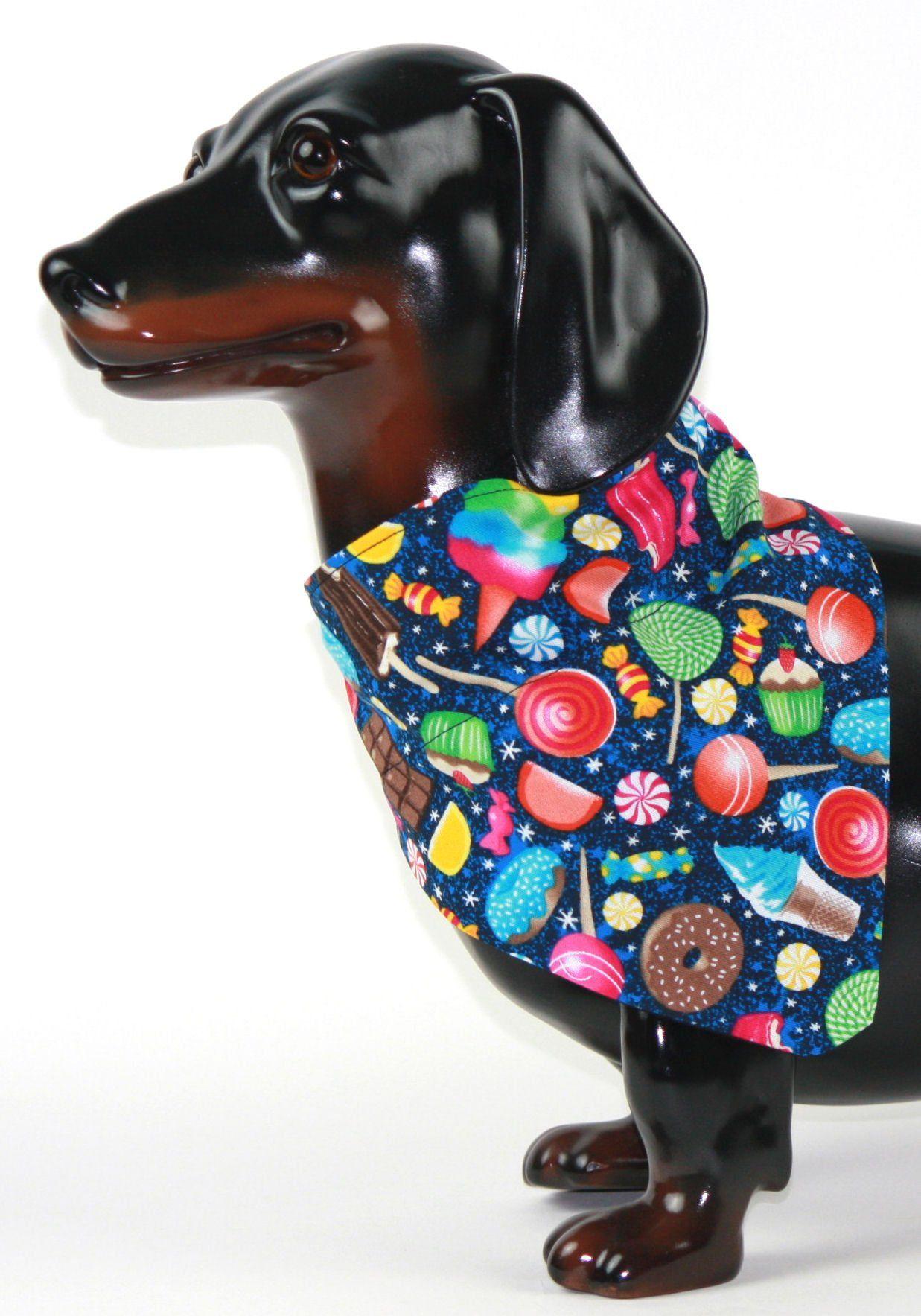 Candy Dog Collar Bandana Personalized Dog Bandana Dog Etsy Dog Bandana Dog Collar Bandana Best Dog Gifts