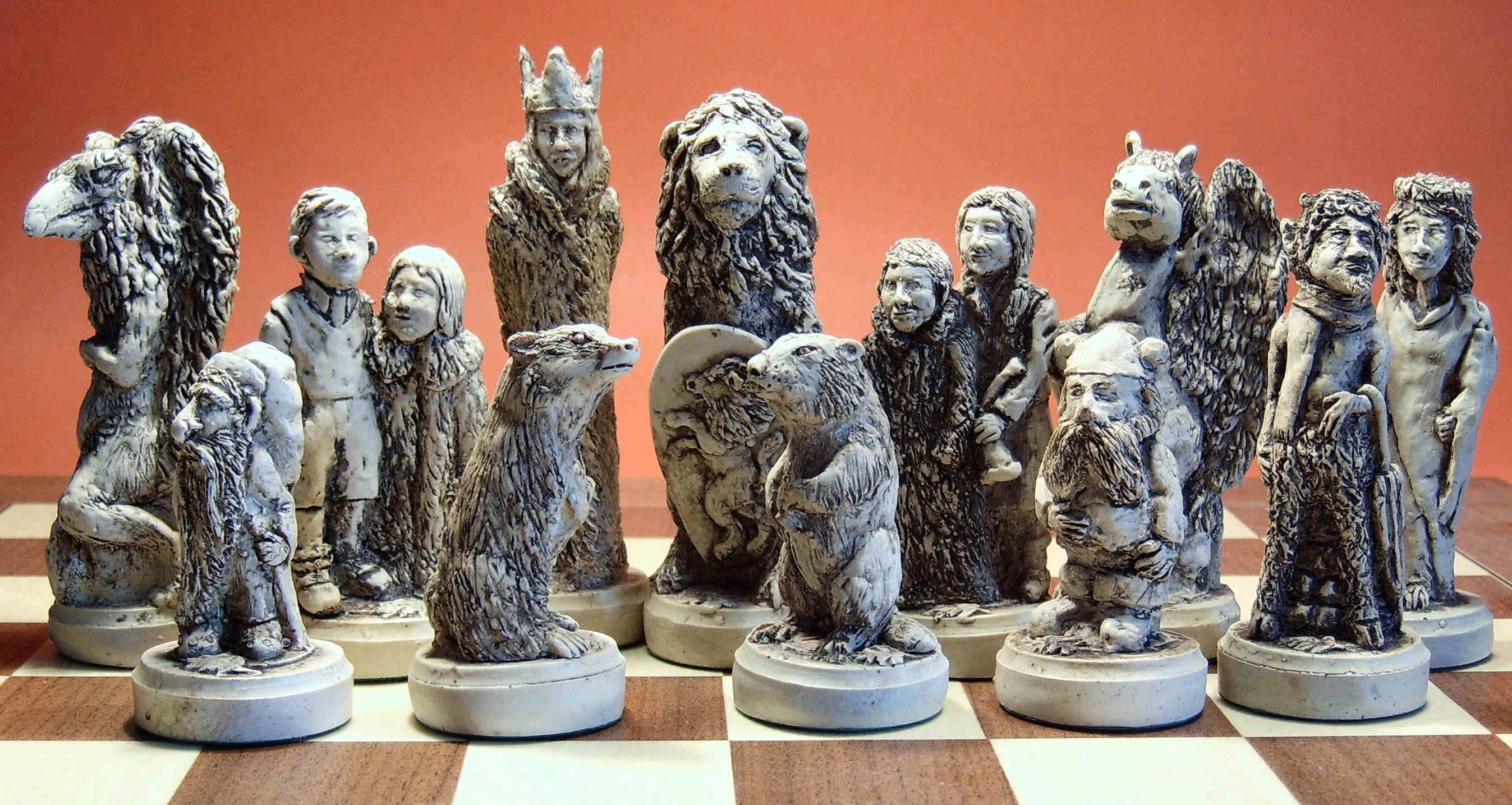 Unique Chess Set Unique Chess Pieces  Chess Nuts  Chess Moulds & More  Crafts