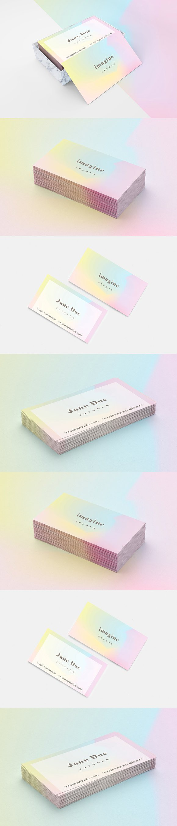 Minimal holographic business card | Pinterest | Holographic ...