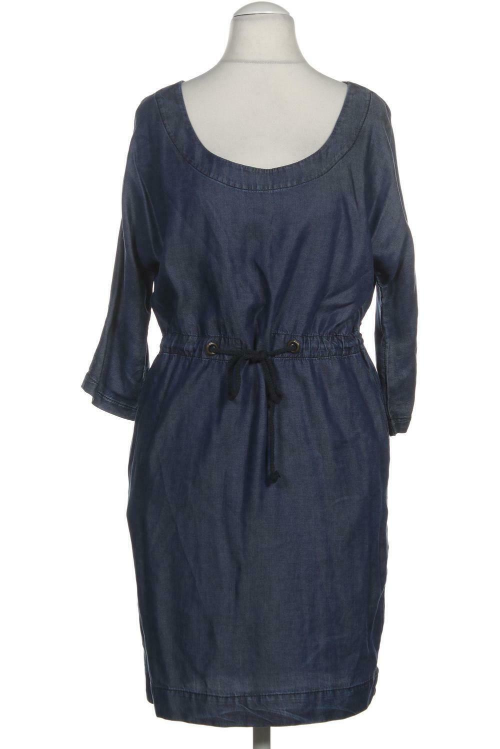 ZARA Kleid Damen Dress Damenkleid Gr. S Viskose blau #b18efee18