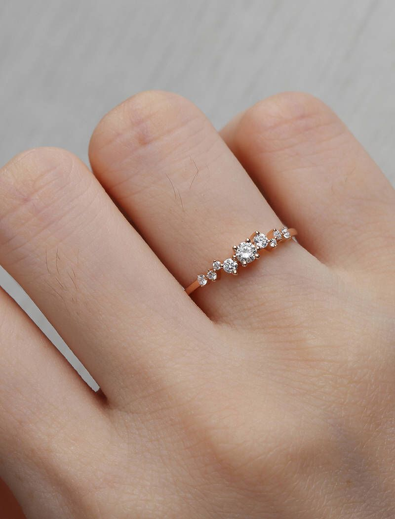 stone diamond the marquise dainty rings london cut engagement ring