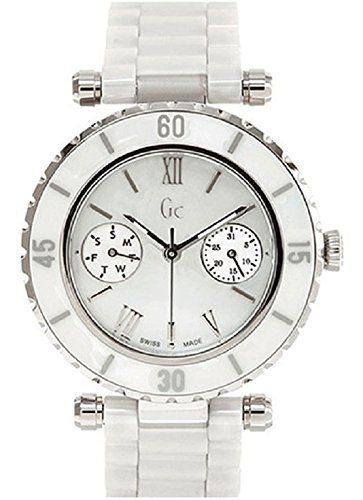 a9b20b206 Women's Wrist Watches - GUESS GC DIVER CHIC White Ceramic Timepiece >>>  More info could be found at the image url.