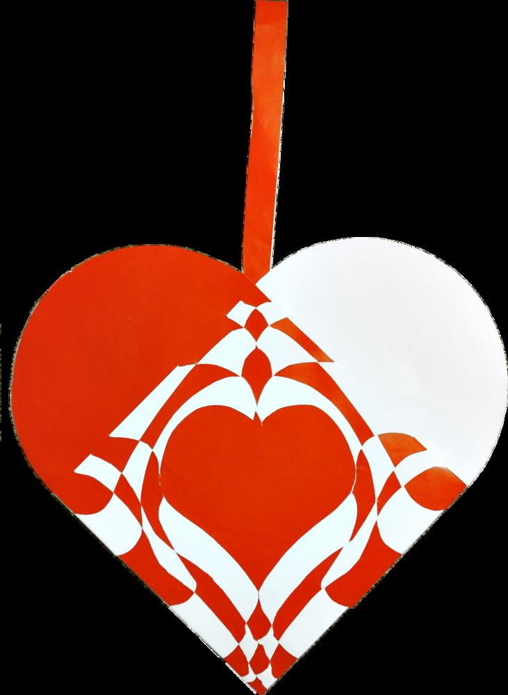 The Christmas heart that Roi Louis XIV would have made. #christmas #homemade #craft #ornament #julehjerte #motiv #juleflet #julehygge #hjemmelavet #barok