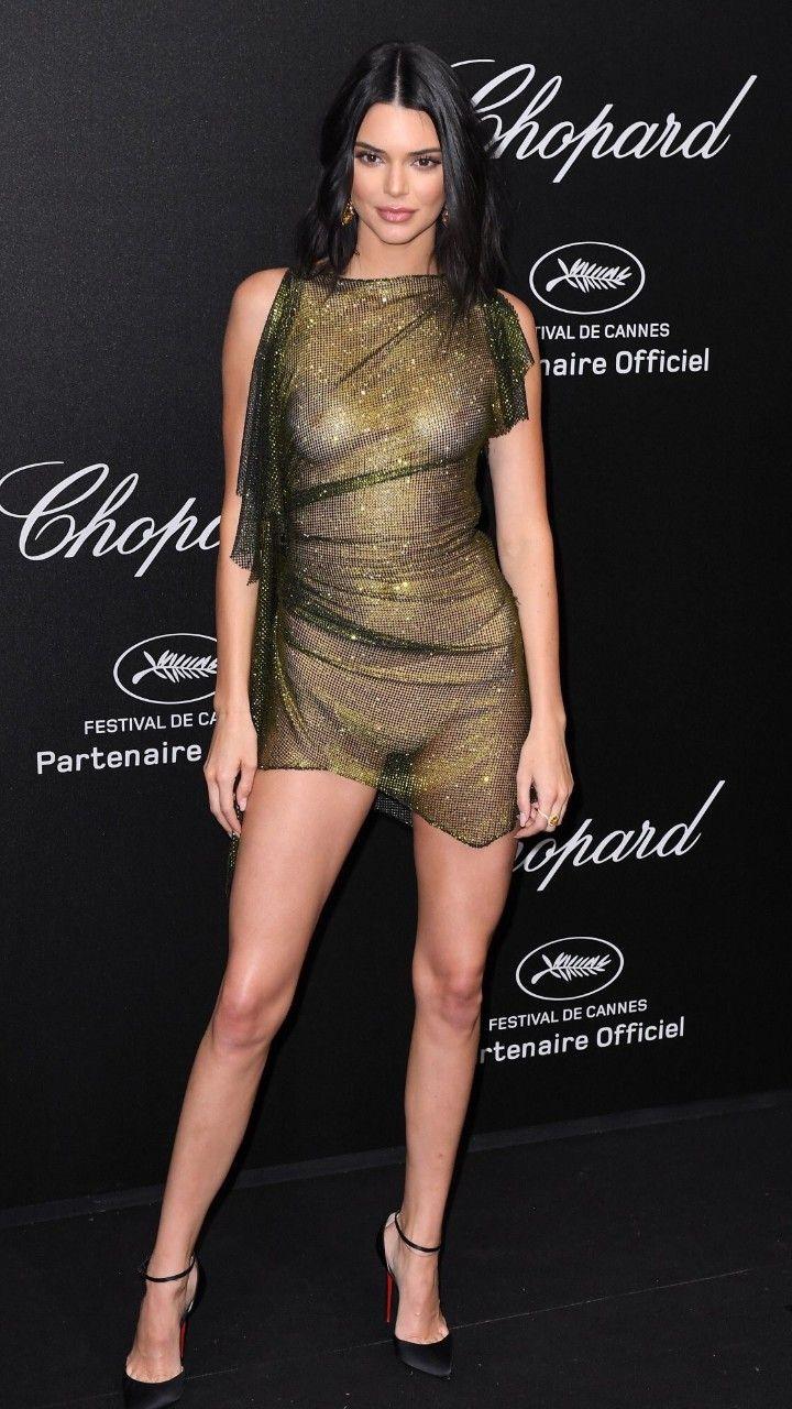 El polémico vestido de Kendall Jenner en Cannes 2018, El