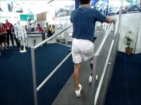 Segurança do Trabalho - Palestras Amputados Vencedores - O primeiro e único brasileiro que utiliza a prótese de perna Genium, da Otto Bock