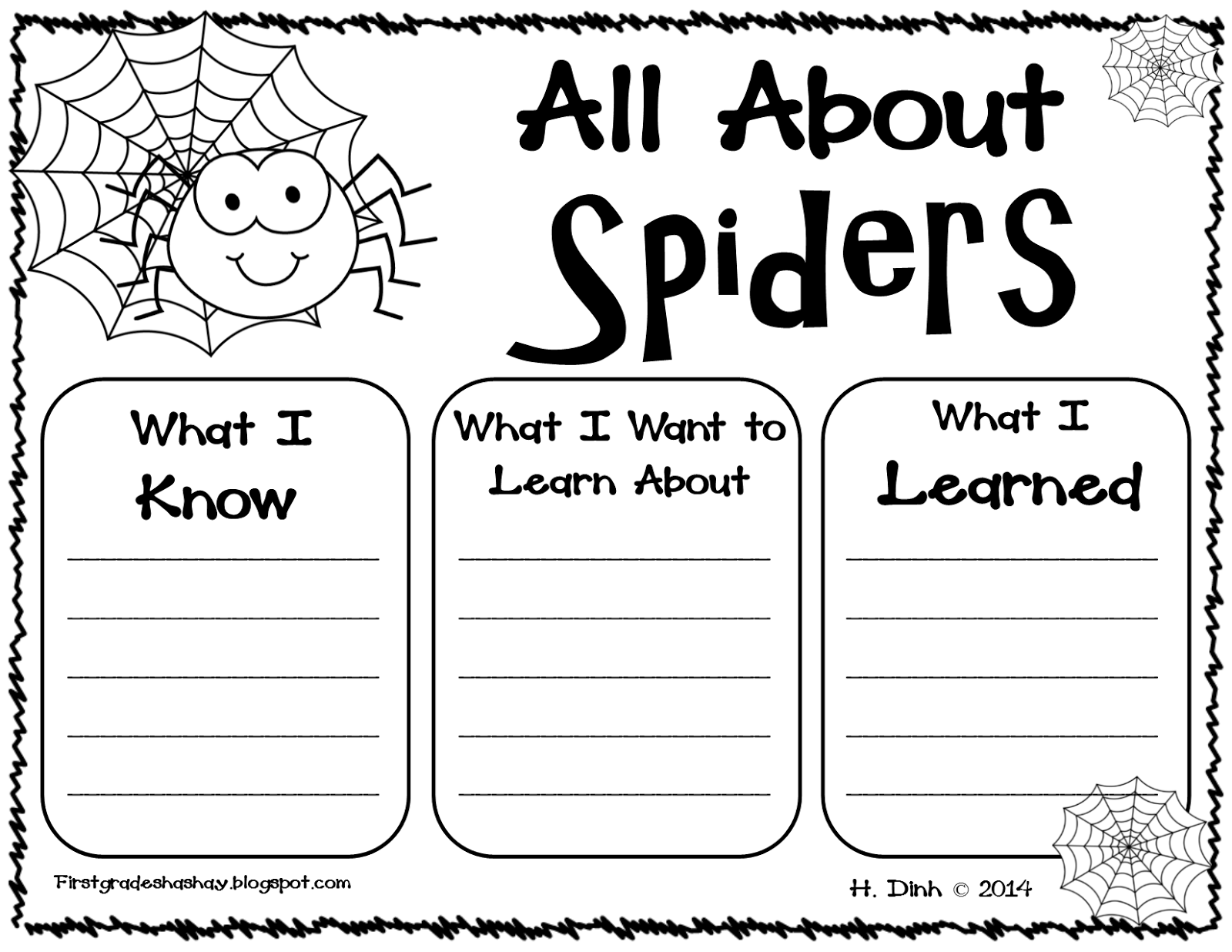 Free First Grade Shashay  Fall And Halloween Resources For The