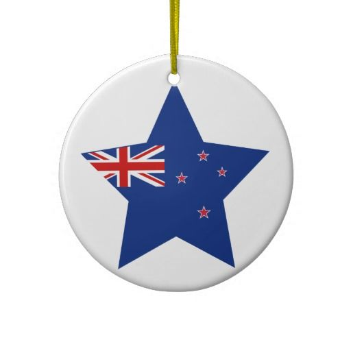 New Zealand Star Star Ornament Ornaments Christmas Ornaments