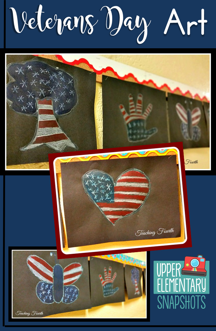 Check out this blog post for the instructions on how to create this Veterans Day art! #veteransdaycrafts