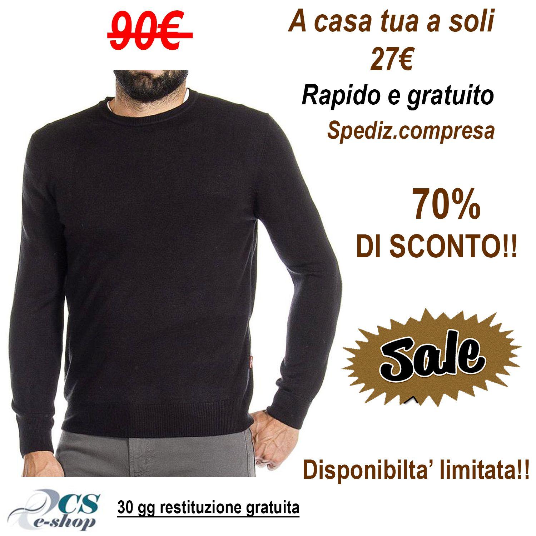 100% authentic 42310 68a2e Dettagli su Maglioncino Uomo Maglione Maglia Pullover ...