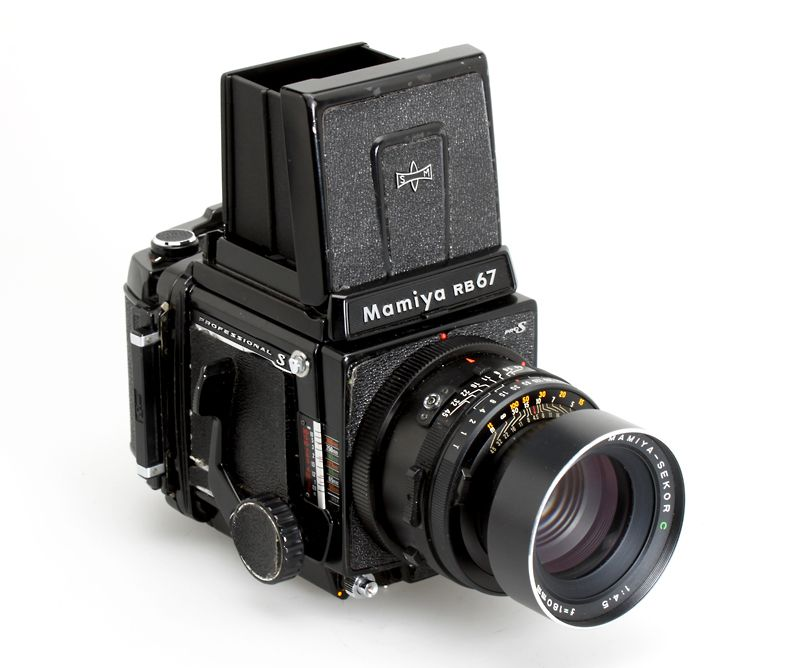 Mamiya RB67 To say this was a tank of a camera might be an