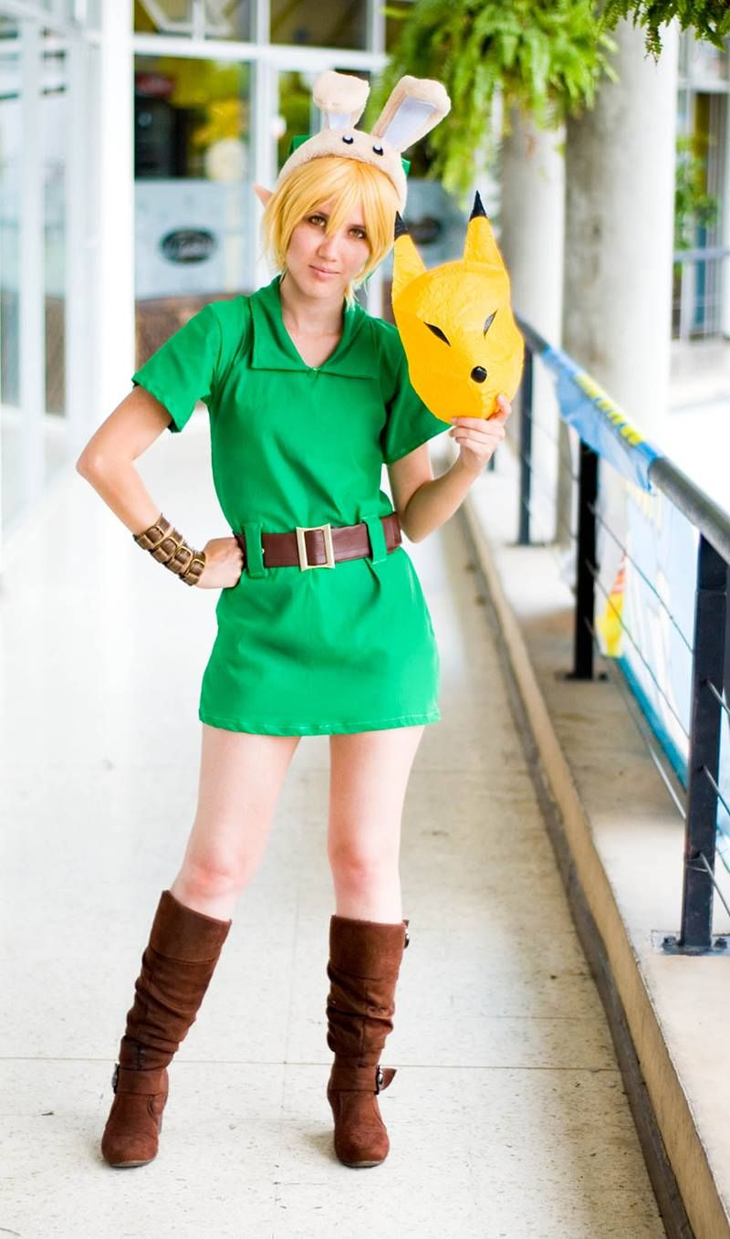 Young Link cosplay from Majora's Mask by Molecular Agatha | #Zelda ...