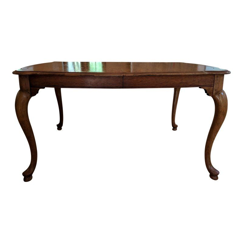 20th Century Queen Anne Baker Furniture Company Dining Table