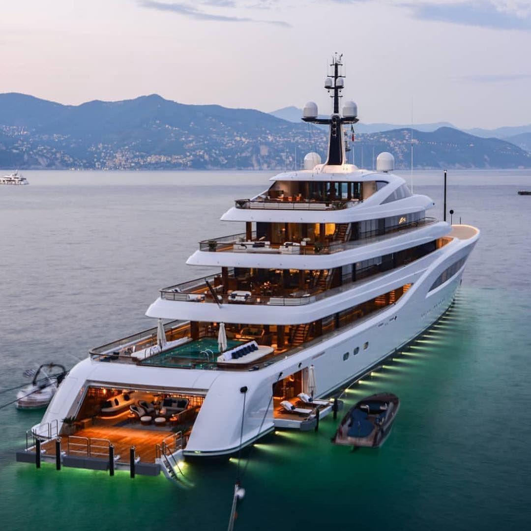 Onlyforluxury On Instagram Beautiful 97m Mega Yacht Faith