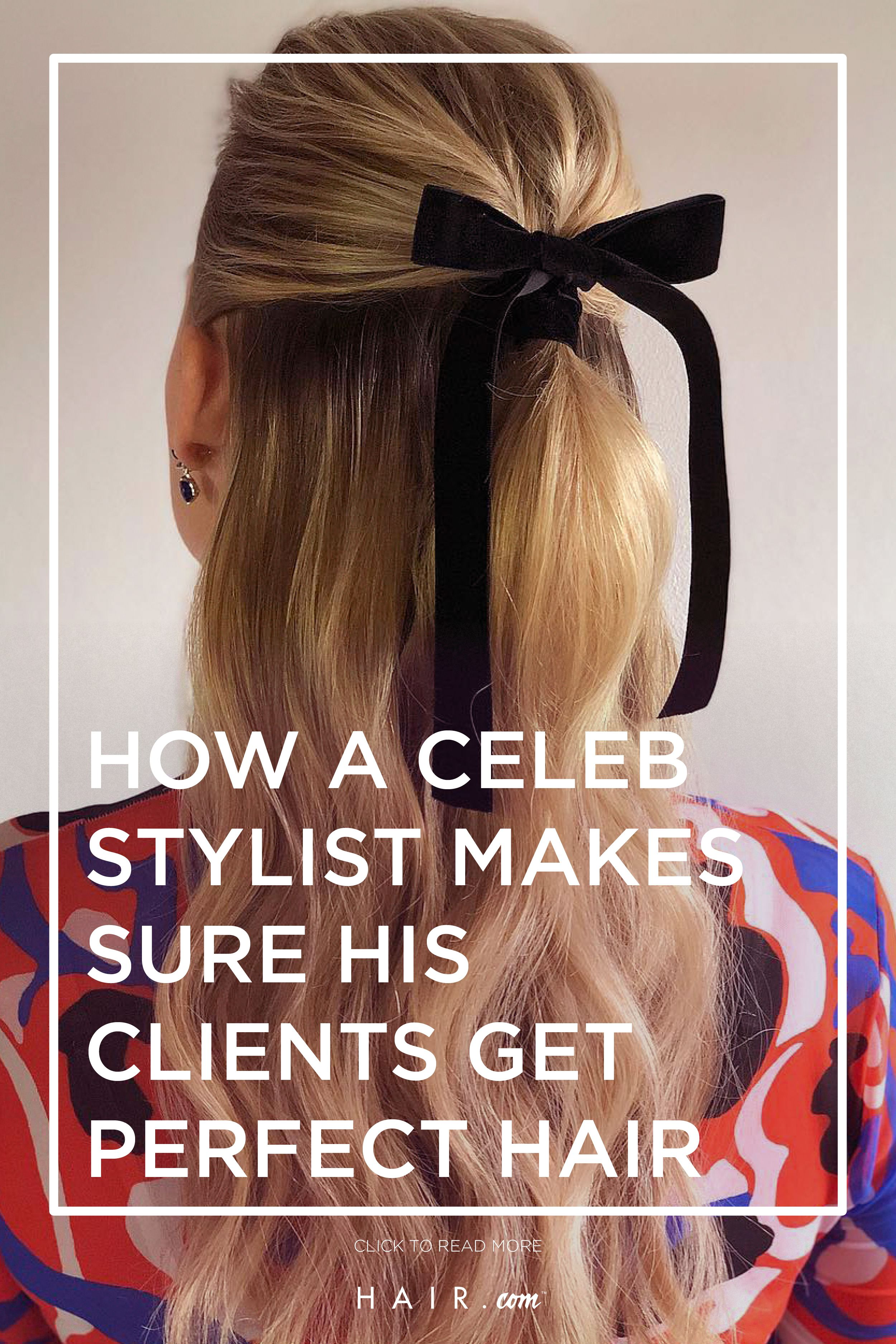 Inspired By Red Carpet Looks Read The Full Article On Hair Com To Learn How A Celebrity Stylist Chooses The Perf Special Occasion Hairstyles Hair Perfect Hair