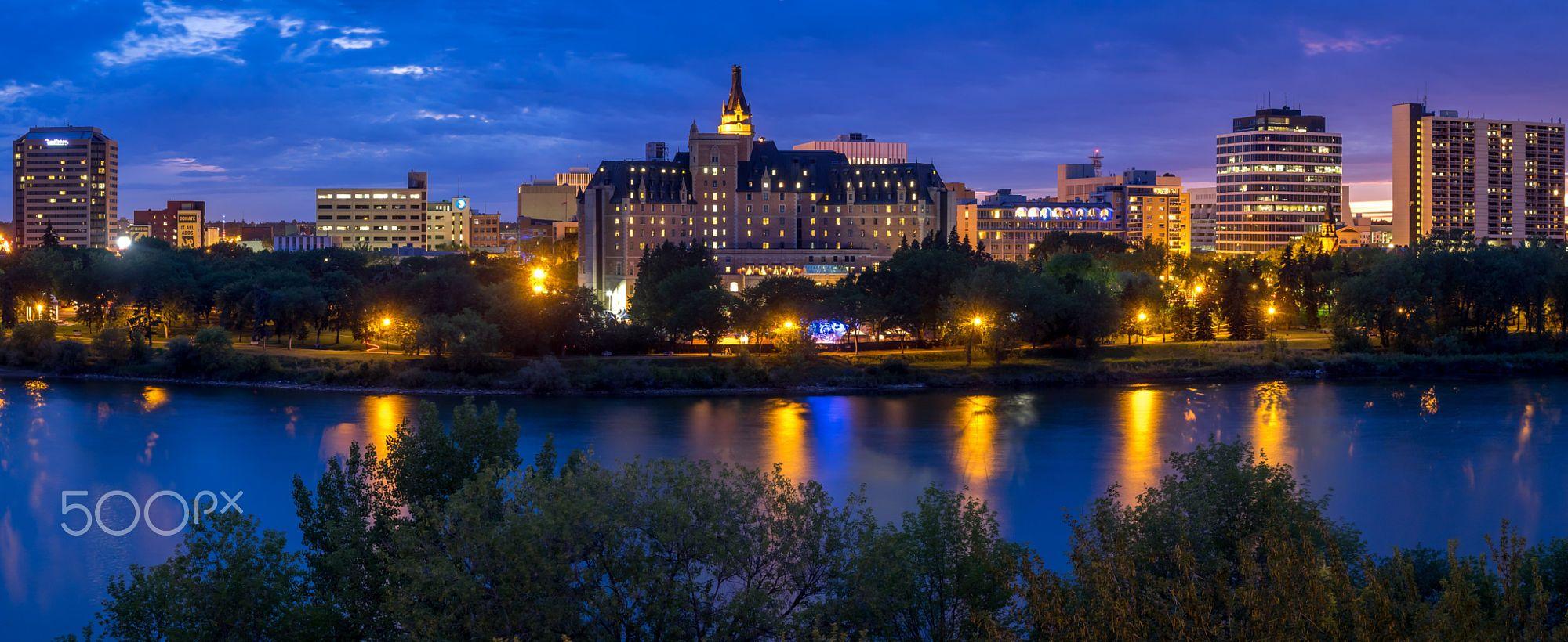 Olha que demais: Saskatoon skyine