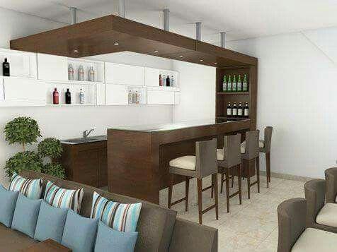 Decoraci n bar pinterest bar basements and barra bar for Barras de bar para casa