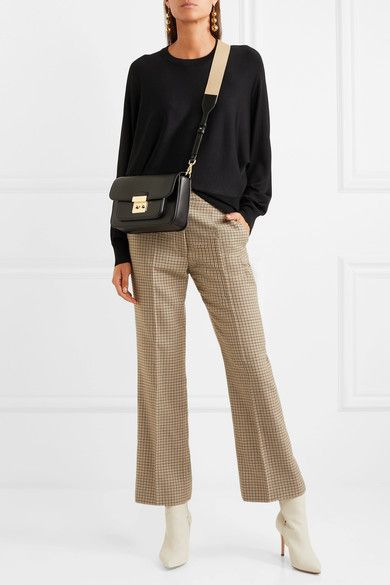 e399706603de MICHAEL Michael Kors | Sloan Editor large leather shoulder bag |  NET-A-PORTER.COM