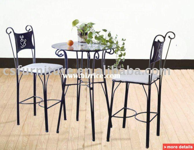 Outdoor Restaurant Tables And Chairs Steel Glass Dining Table