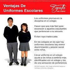 04cd20a34 Bildergebnis für articulo sobre el uniforme escolar texto facil ...