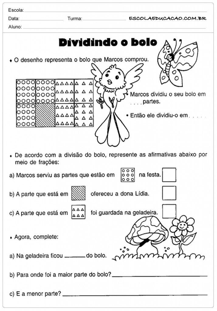 Atividades de Matemática 5 º ano - Divisão | matematica 5