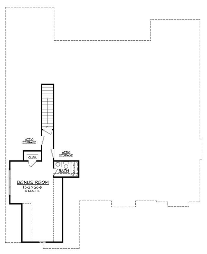 Print-Ready Version: House Plan #142-1168
