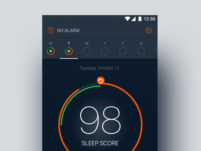 Solving Sleep for Android by Samuli Nivala