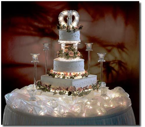 Wedding Cake Table Ideas 15 0425blessing blog 14 copy Wedding Cake Decoration Charming Angel Theme Wedding Cake And Cake Table Decoration