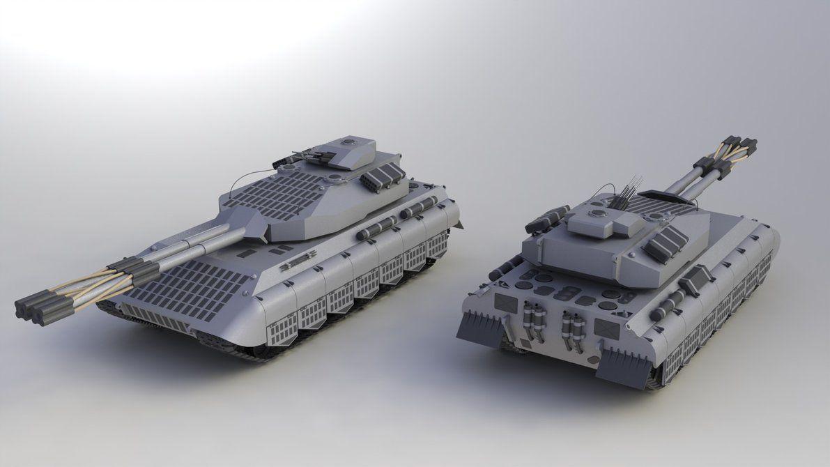 PzKpfw K100 Ausf. A by SteamTank on DeviantArt