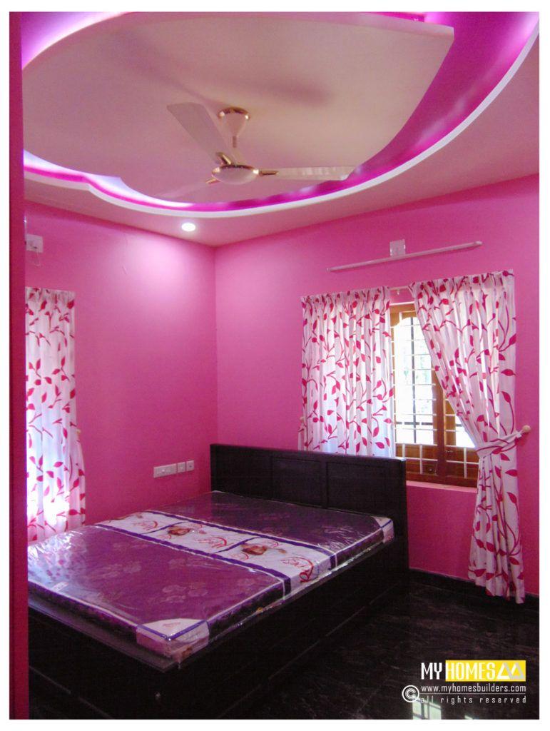 fair simple small bedroom designs kerala style cool ...