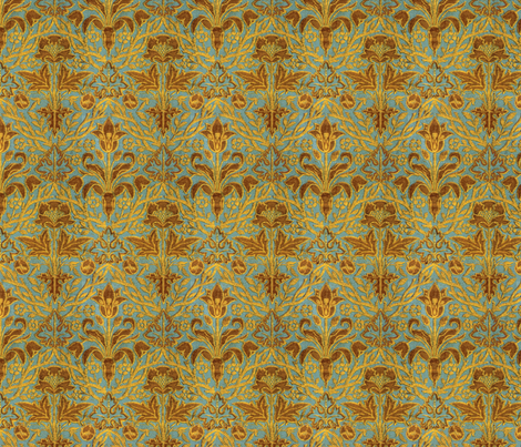 victorian upholstery fabric by unseen_gallery_fabrics on Spoonflower - custom fabric