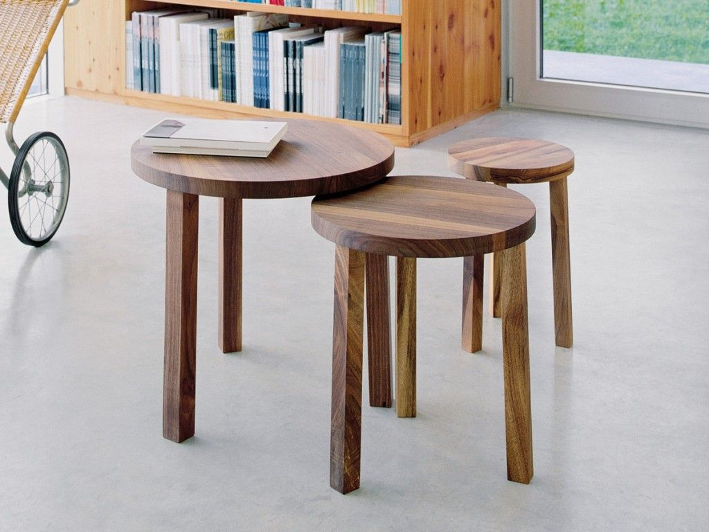 Nesting Side Tables Are Versatile Small Stacking Tables They