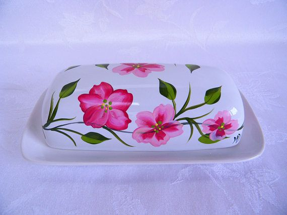 This butter dish reminds me so much of Spring and I am so